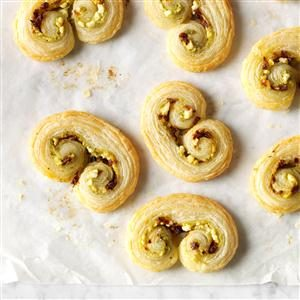 Puff Pastry Christmas Palmiers Recipe