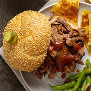 Pulled Brisket Sandwiches Recipe