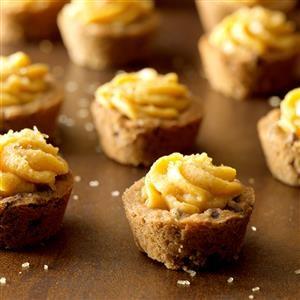 Pumpkin Chocolate Chip Tassies Recipe
