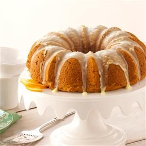 Pumpkin-Citrus Bundt Cake Recipe