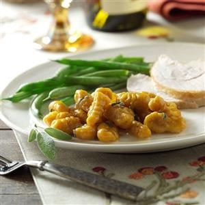 Pumpkin Gnocchi in Sage Butter Recipe