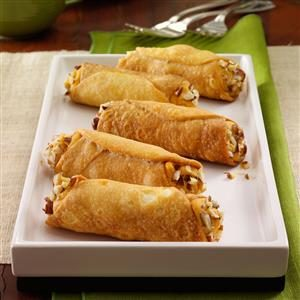 Pumpkin Pie Cannoli Recipe
