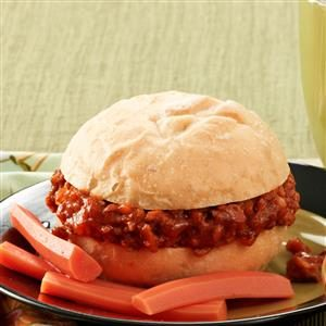 Pumpkin Sloppy Joes for 2 Recipe