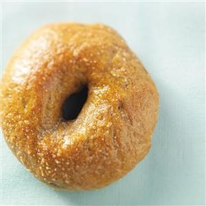 Pumpkin Spice Bagels Recipe