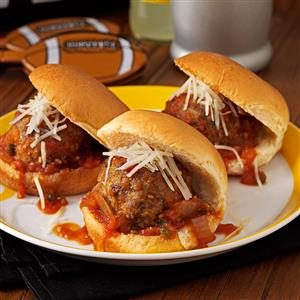 Puttanesca Meatball Sliders Recipe