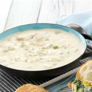 Quick Clam Chowder Recipe