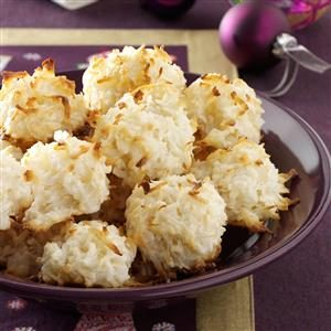 Quick Coconut Macaroons Recipe