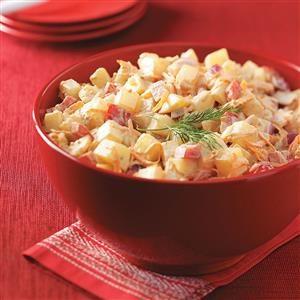 Quick Golden Potato Salad Recipe
