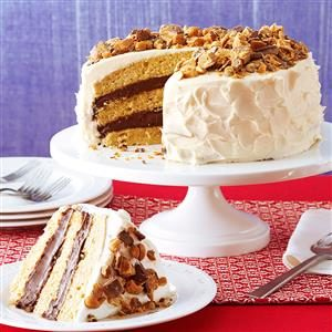 Quicker Blue-Ribbon Peanut Butter Torte
