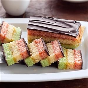 Rainbow Layered Cookies Recipe