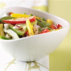 Rainbow Pepper Medley Recipe