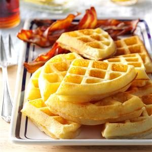 Raised Yeast Waffles Recipe