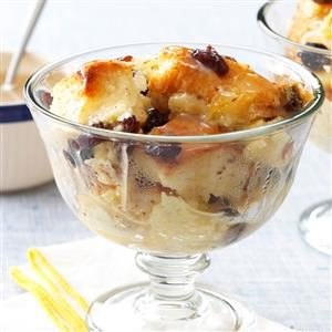 Raisin Bread Pudding Recipe