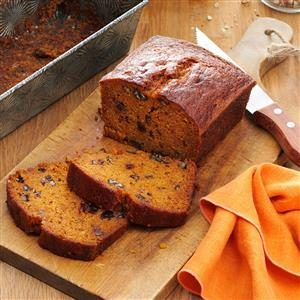 Raisin Filled Pumpkin Spice Bread Recipe