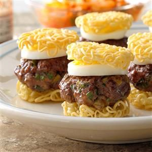 Ramen Sliders Recipe