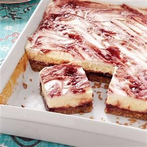 Raspberry Cheesecake Bars Recipe
