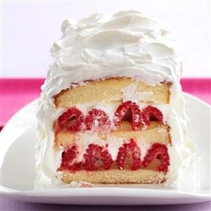 Raspberry Lemon Layer Cake Recipe