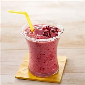 Raspberry Pomegranate Smoothies Recipe
