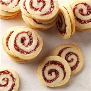Raspberry Swirls Recipe