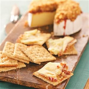 Raspberry-Walnut Brie Recipe