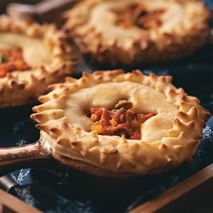 Ratatouille Pizza Potpies Recipe