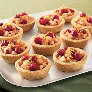 Apple and Berry Tartlets