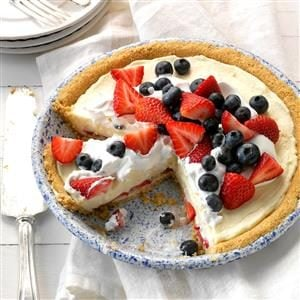 Red, White and Blueberry Pie Recipe