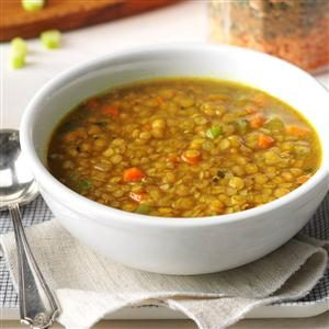 Red Lentil Soup Mix