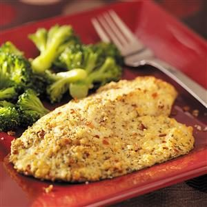 Red Pepper & Parmesan Tilapia Recipe