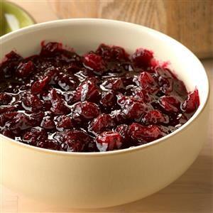 Red Wine Cranberry Sauce Recipe