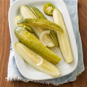 Refrigerator Jalapeno Dill Pickles Recipe