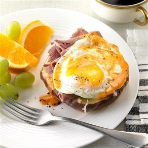 Reuben Eggs Benedict  Recipe