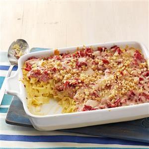 Reuben Noodle Casserole Recipe