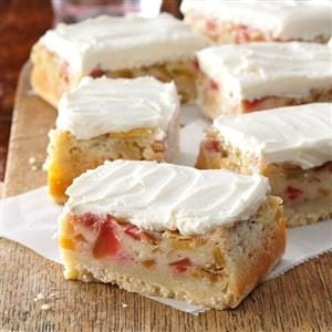 Watch Us Make: Rhubarb Custard Bars