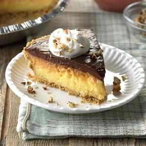 Pie Week: Ribbon Pudding Pie