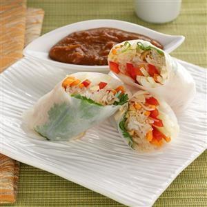 Rice Paper Rolls Recipe