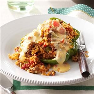 Rice-Stuffed Peppers Recipe