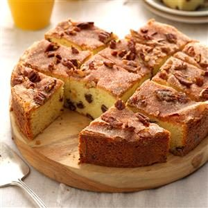Rich Chocolate Chip Coffee Cake Recipe