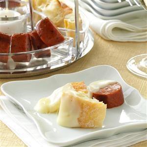 Riesling and Swiss Cheese Fondue Recipe
