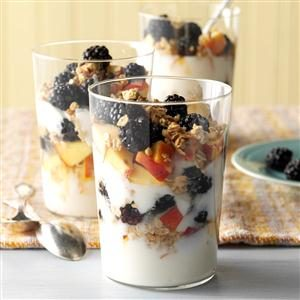 Rise and Shine Parfait Recipe