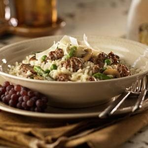 Sausage and Vegetable Risotto Recipe
