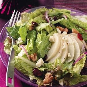 Roasted Apple & Candied Walnut Salad Recipe