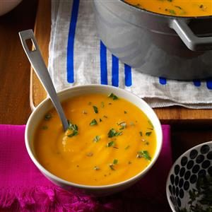 Roasted Autumn Vegetable Soup Recipe