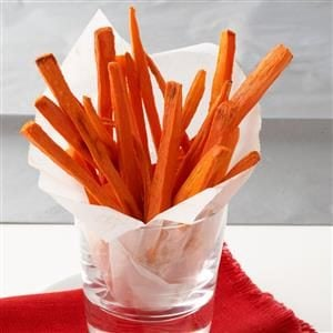 Roasted Carrot Fries Recipe