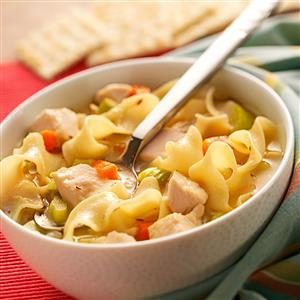 Roasted Chicken Noodle Soup Recipe