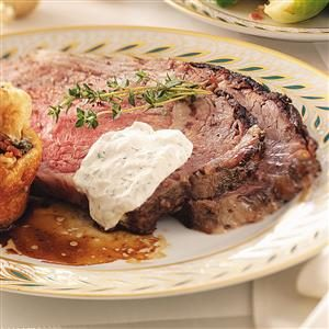 Roasted Garlic & Herb Prime Rib Recipe