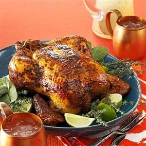 Roasted Lime Chicken Recipe