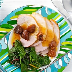 Roasted Pork Loin with Fig Sauce Recipe