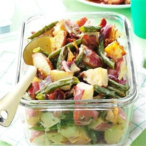 Roasted Potato & Green Bean Salad Recipe