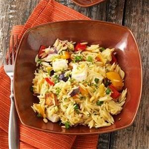 Roasted Vegetable Pasta Salad Recipe